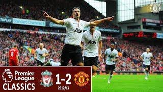 Premier League Classics | Liverpool 1-2 Manchester United | Rafael & Van Persie seal the win in 2012