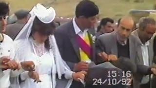 Архив Курдская свадьба 1992 года  часть 2 Асо и Марджан
