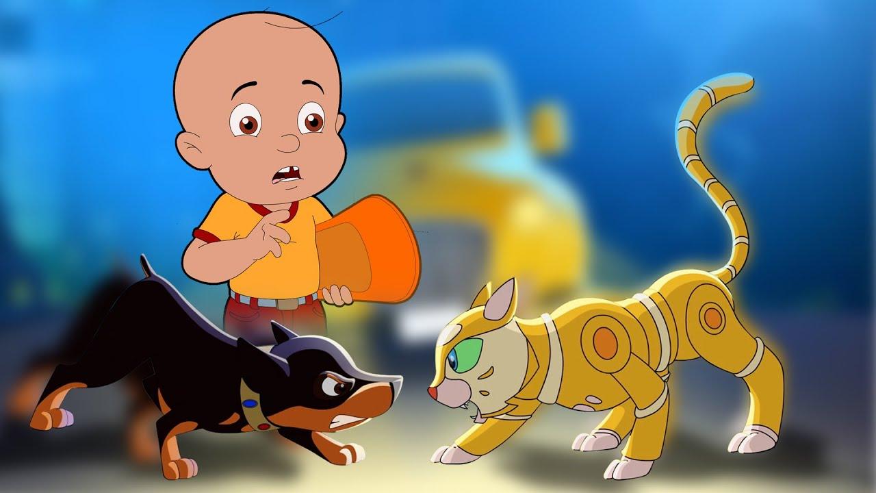 Download Mighty Raju - Super Intelligent Robot | रोबोट बिल्ली | Cartoons for Kids in Hindi