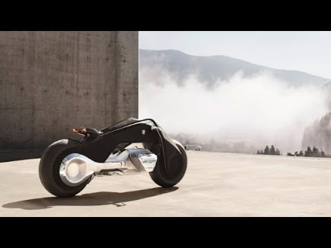 Bmw Imagines Motorcycle Of The Future Youtube