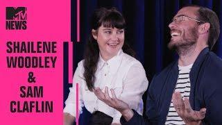 Shailene Woodley & Sam Claflin on 'Adrift', RuPaul's Drag Race & More!    MTV News