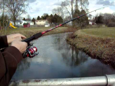 How to use an open reel fishing rod youtube for Open reel fishing pole