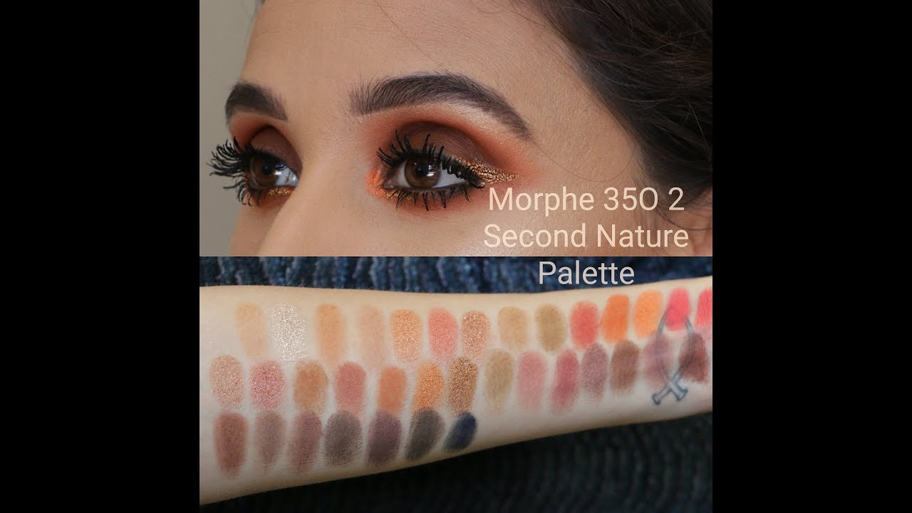 Second Nature Artistry Palette - 35O2 by Morphe #18