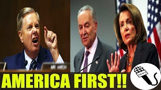 A MUST SEE!! Sen Graham HAS HAD ENOUGH Of DEMS, Give Pelosi, Schumer LAST CHANCE Over BORDER! DONE!