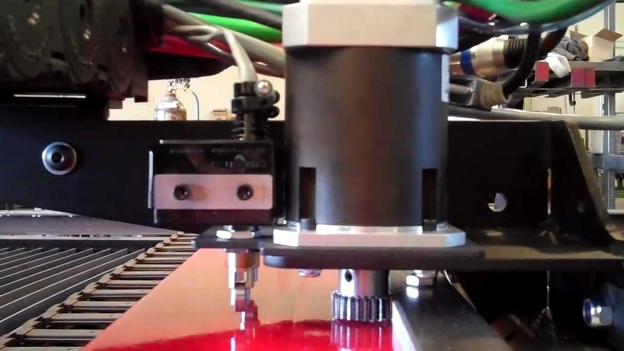 10x40 Torchmate X Cnc Plasma Table Ride Along Youtube