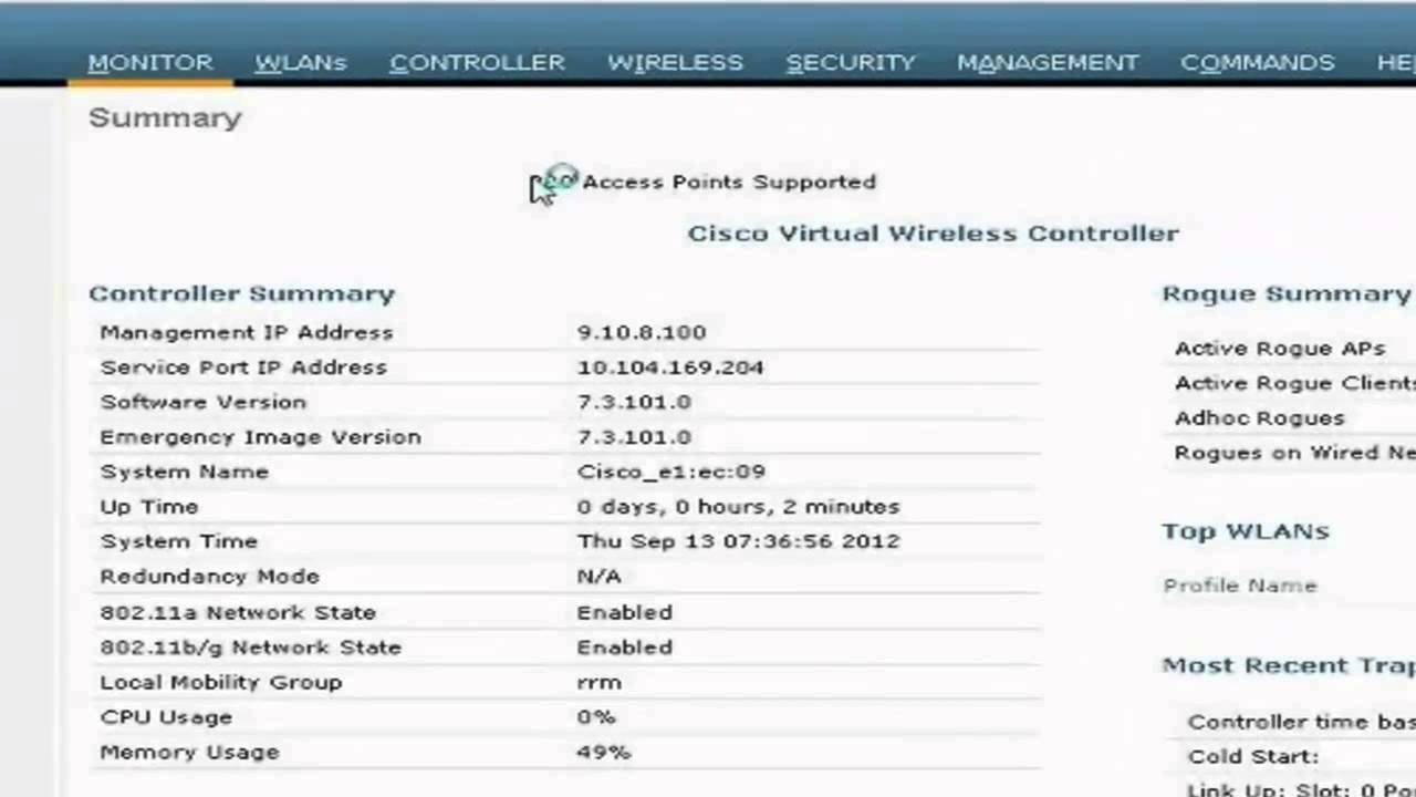 Cisco Virtual Wireless Controller (vWLC) License Activation 7 3 Release