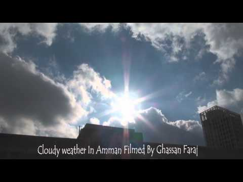 cloudy weather in amman