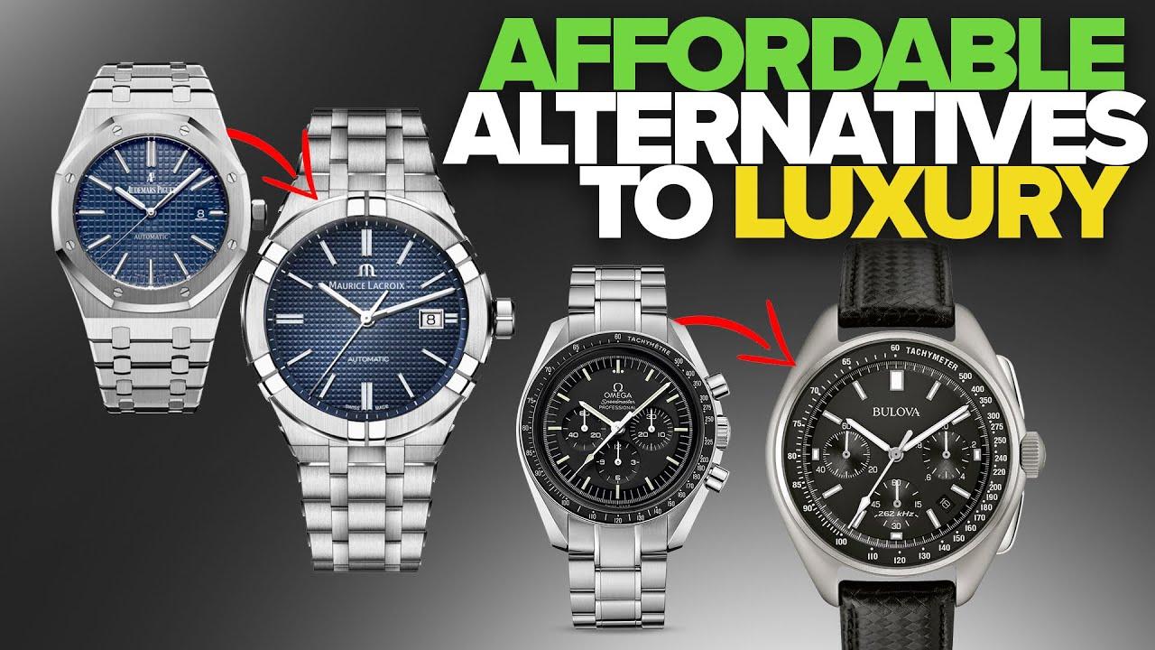 914e94cd Affordable Alternatives to Luxury Watches (Royal Oak, Daytona, Speedmaster  & More)