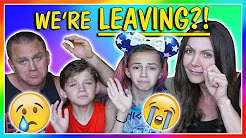 WE ARE LEAVING FOR GOOD! | We Are The Davises