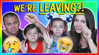 We have some important news to share with you! Watch our family out...