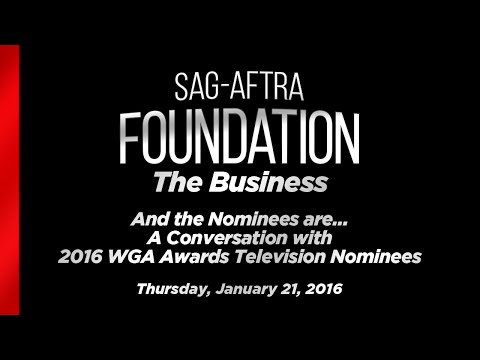 The Business: Q&A with 2016 WGA Awards Television Nominees