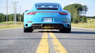 2017 Porsche 911 Carrera 4 GTS: Sights and Sounds