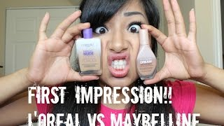 MAYBELLINE DREAM WONDER FOUNDATION VS L