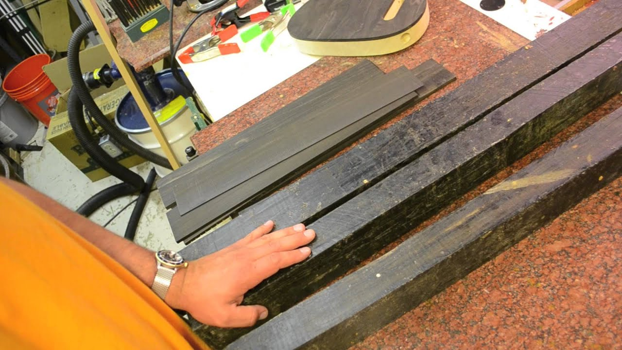 Luthier Wood Review Gaboon Ebony Perfect For Fretboard