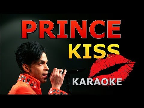 Prince - Kiss Karaoke with Lyrics