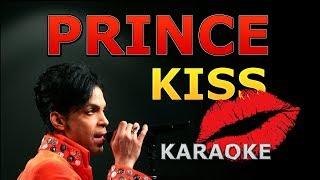 Prince - Kiss Karaoke with Lyrics