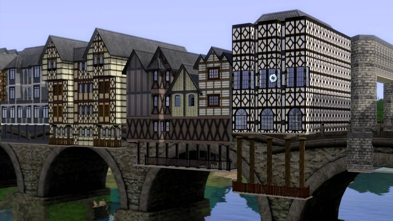 Sims 3 old london bridge youtube for Design agency london bridge