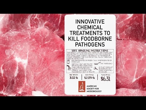 Innovative Chemical Treatments to Kill Foodborne Pathogens - Michael Doyle, PhD