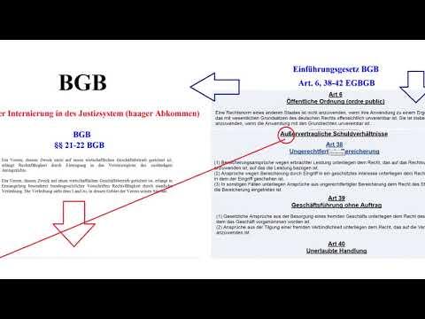 Casino Recht§   BRD im außervertraglichem Schuldverhältnis der Obligation 1080p 25fps H264 128kbit A