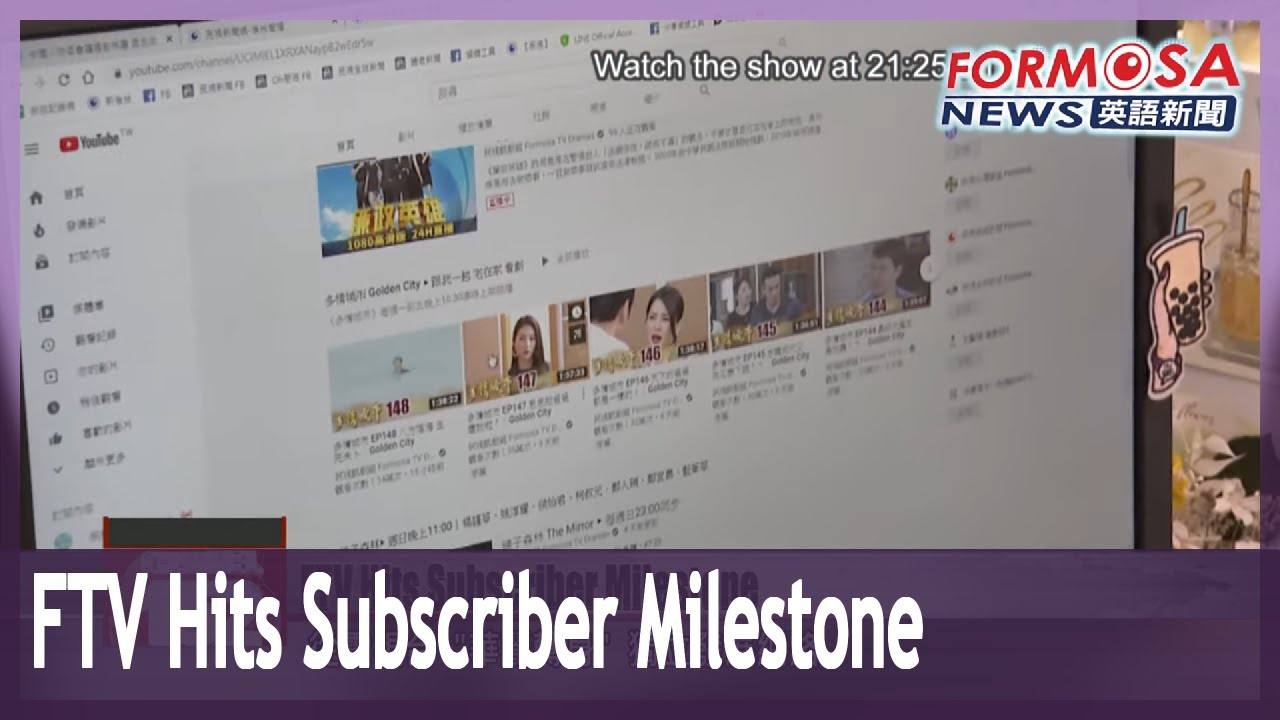 Download FTV news celebrates 1 million subscribers on YouTube