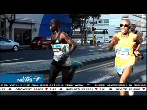 Stephen Mokoka on winning the Shanghai International Marathon