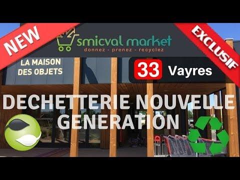 DECHETTERIE NOUVELLE GENERATION ( Supermarché Des Déchets :   Donnez, Prenez, Recyclez )