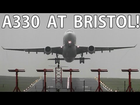 Balkan Holidays Air A330-223 Awesome Takeoff at Bristol Airport (BRS/EGGD) with ATC!