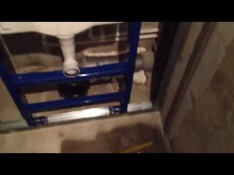 0 - Установка інсталяції унітазу