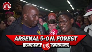 Arsenal 5-0 Nottingham Forest | Martinelli Announced Himself Tonight With Brilliant Goals! (Tade)