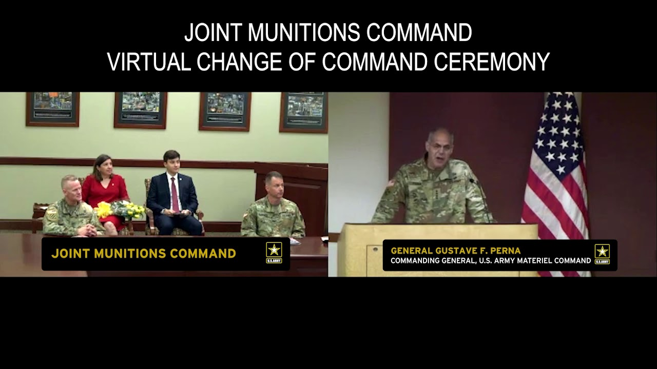 JMC Change of Command Ceremony 2020, UNITED STATES, 06.11.2020