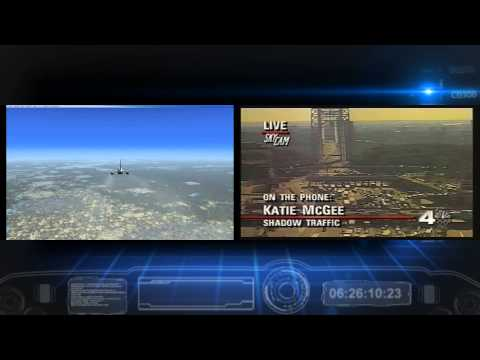 September 11th ( 9/11 ) attacks Simulation as it Happened