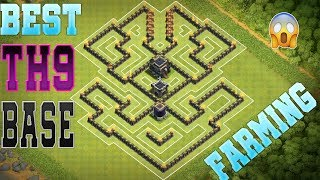 Clash Of Clans Town Hall 9 [TH9] Farming Base | Anti Everything