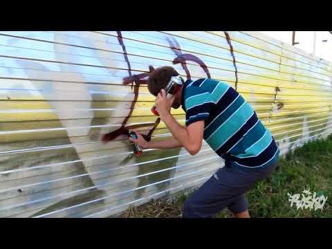 GRAFFITI BOMBING COMPILATION :: RASKO :: MOSCOW CITY