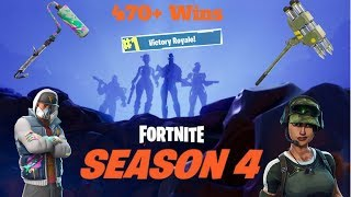 New Season 4 Skins // 490+ Wins // Level 38 // // 13000+kills // Fortnite Battle Royale