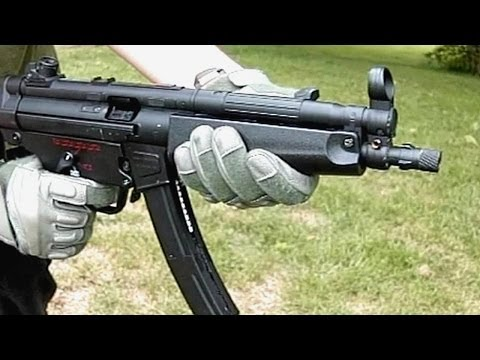 Airsoft Bell (ACM) MP5 GBB Demonstration