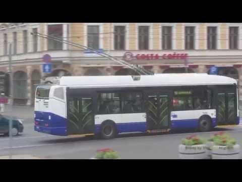 Trolleybuses in Riga, Latvia