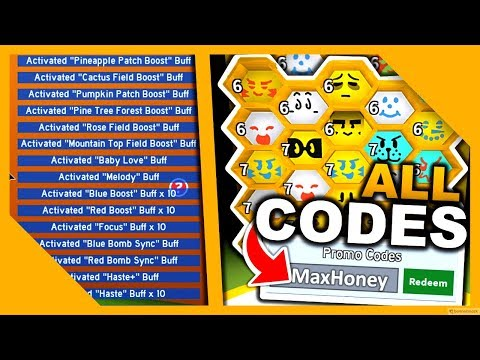 All 30 Codes In Bee Swarm Simulator Youtube