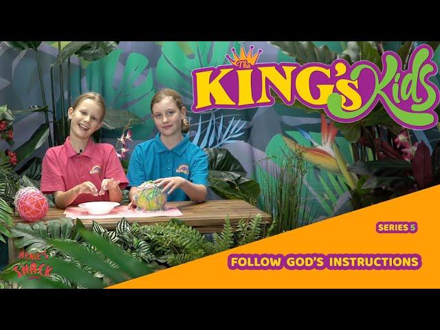 Follow God's Instructions
