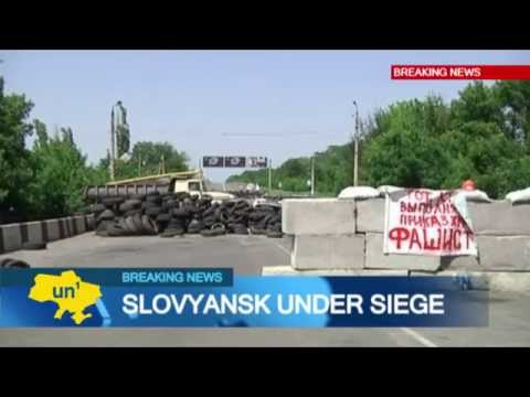 Slovyansk Insurgents Surrounded: Kremlin-backed fighters have transformed city into war zone