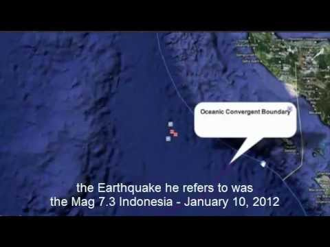 Indonesia MAG 7.3 Earthquake Jan 10, 2012 - Was this an EMP Weapon? Evidence? You Decide