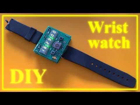 DIY LED Wristwatch
