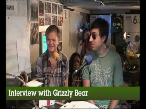 Grizzly Bear interviewed at Glastonbury 2010 on BBC 6 Music