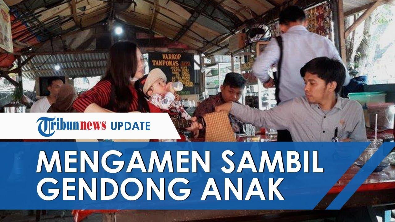 "Image result for Vani Ngamen Sambil Gendong Anak"""