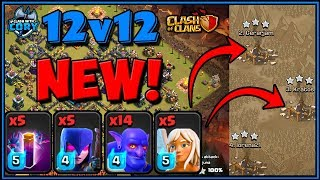 *NEW* Bat Spell + BoWitch TH12 Attack Strategy! | CLASH OF CLANS | Town Hall 12