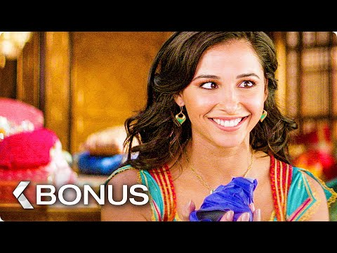 ALADDIN All Bloopers, Bonus Features & Movie Clips (2019)