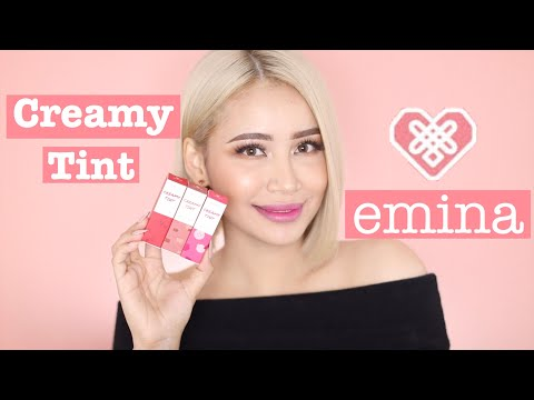 emina-creamy-tint-swatches-&-review