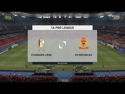 ⚽ Standard Liege vs Mechelen ⚽ | Club Friendly (10/07/2021) | Fifa 21 |