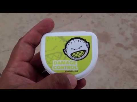 Damage Control Boil And Bite Mouthguard Review Youtube