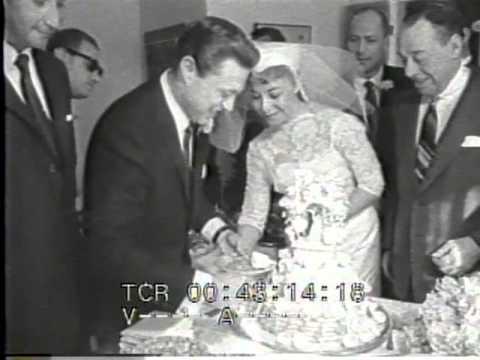 Steve Lawrence Eydie Gorme Wedding reel with Joe E. Lewis Las Vegas 30 December 1957