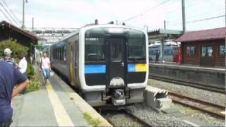 JR小海線・ハイブリッド列車  JR Koumi line - hybrid train